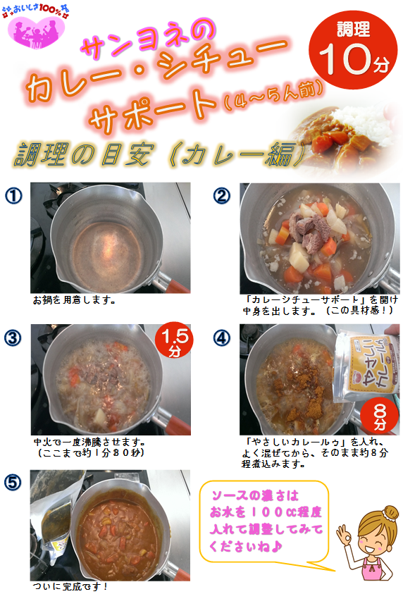 カレーレシピ